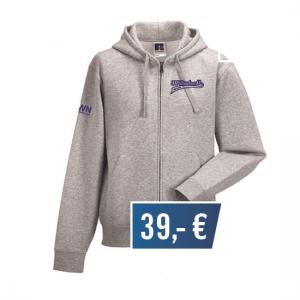 Hoodie-Jacket-Retro-Grau